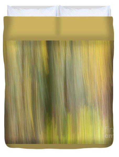 Aspen Blur #2 Duvet Cover