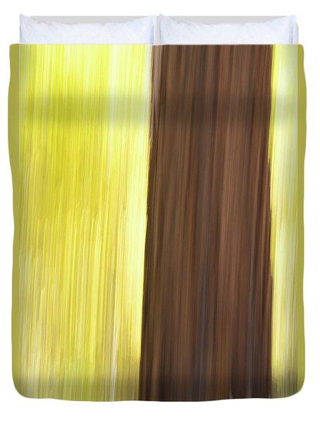 Aspen Blur #4 Duvet Cover