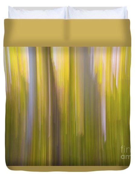 Aspen Blur #6 Duvet Cover