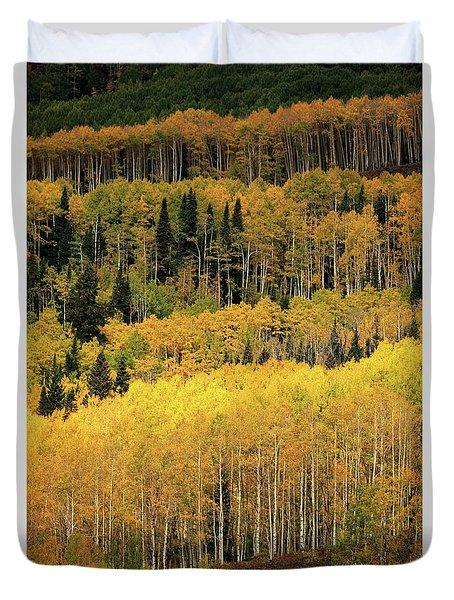 Aspen Groves Duvet Cover