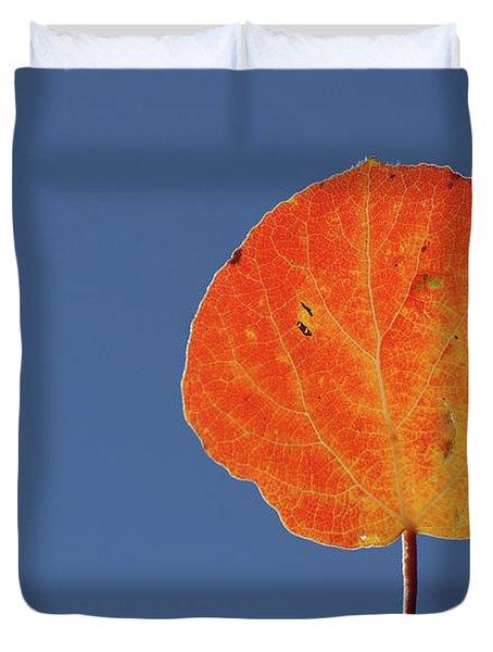 Aspen Leaf 1 Duvet Cover