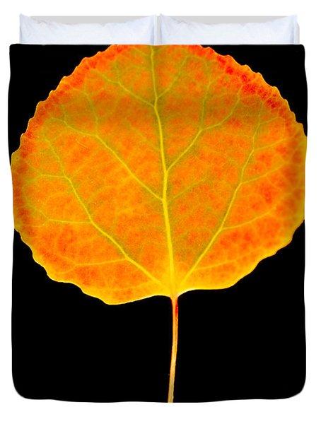 Aspen Leaf Glory Duvet Cover
