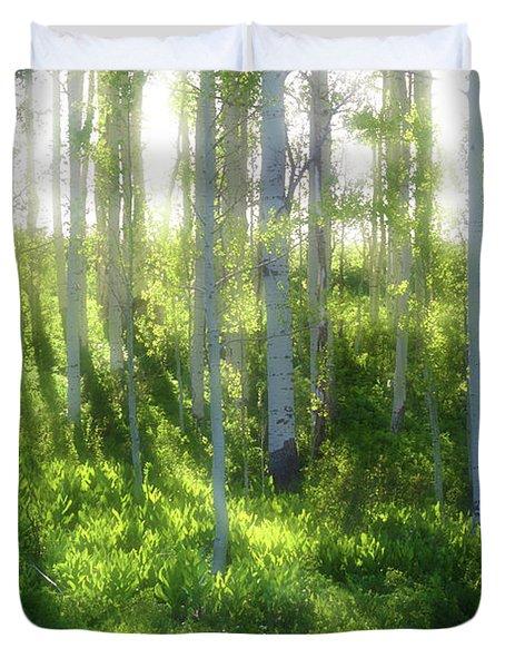 Aspen Morning 3 Duvet Cover