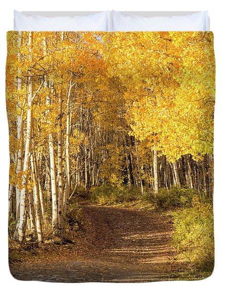 Aspen Path Duvet Cover