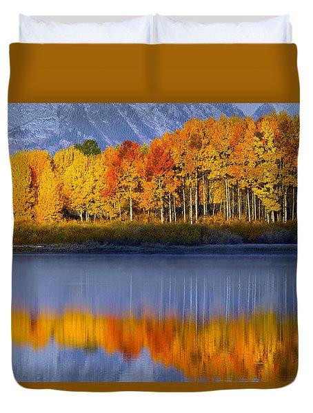 Aspen Reflection Duvet Cover
