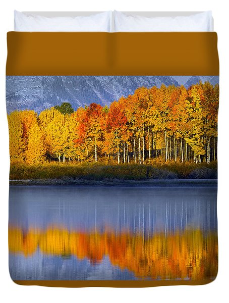 Aspen Reflection Duvet Cover