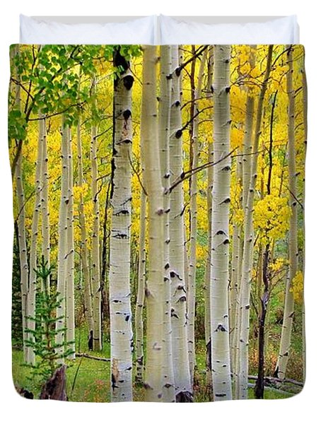 Aspen Slope Duvet Cover