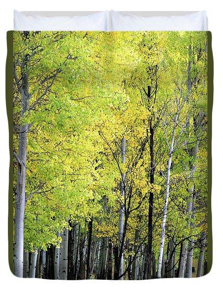 Aspen Splendor Duvet Cover
