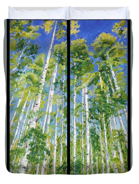Aspen Twin Perspectives Duvet Cover