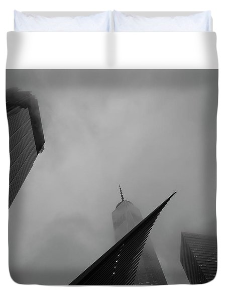 Duvet Cover featuring the photograph Aspire by Alex Lapidus