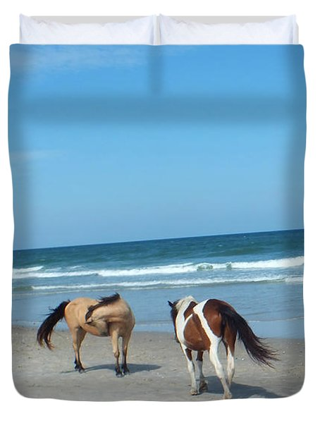 Assateague 1 Duvet Cover