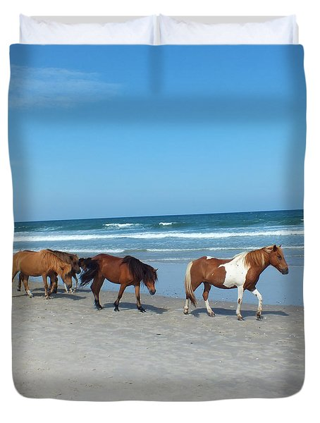 Assateague 2 Duvet Cover
