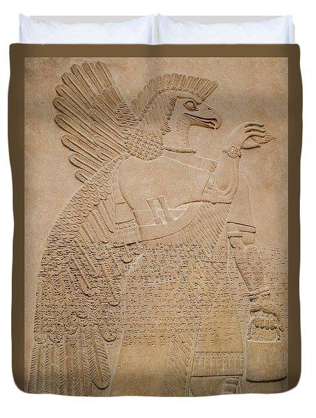 Assyrian Guardian Duvet Cover