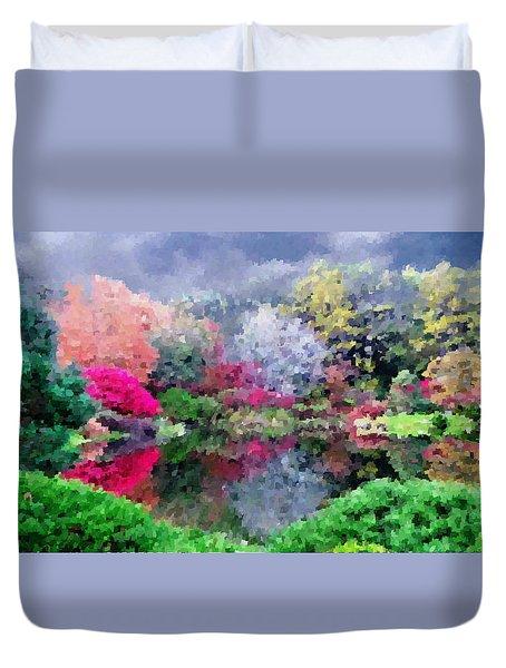 Asticou Azalea Garden  Duvet Cover