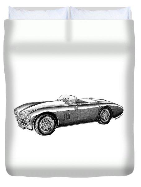 Aston Martin Db-5 Duvet Cover by Peter Piatt