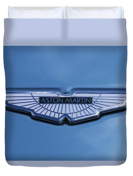 Aston Martin Duvet Cover by Scott Carruthers
