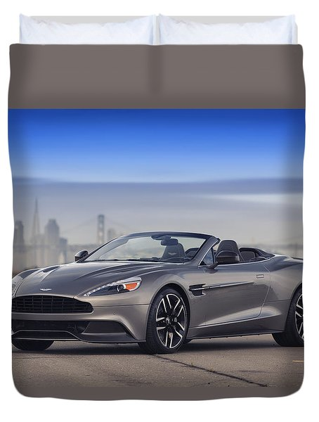 Aston Vanquish Convertible Duvet Cover