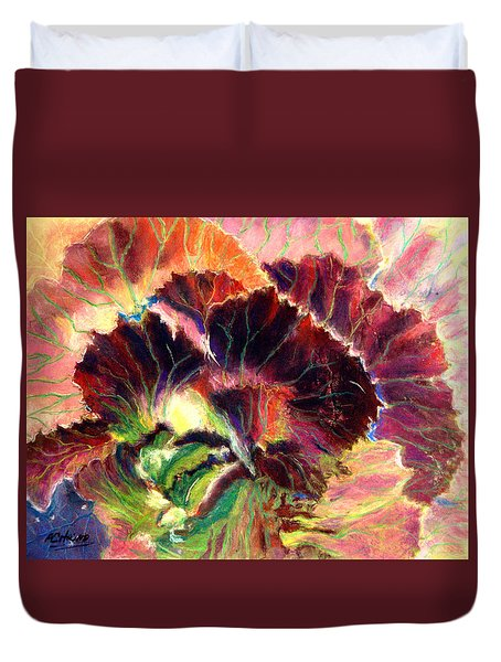 Astonishing Cabbage  Pastel Duvet Cover