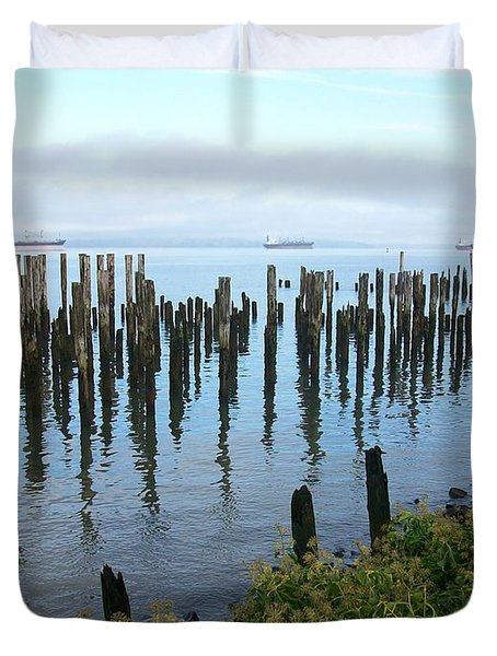 Astoria Ships  Duvet Cover