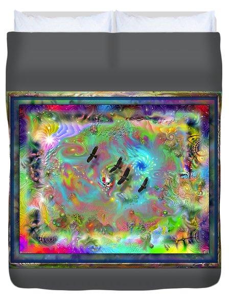 Astral Vision Duvet Cover