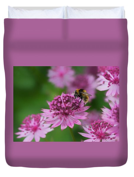 Pollination Duvet Cover