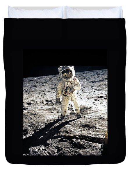 Astronaut Duvet Cover by Photo Researchers