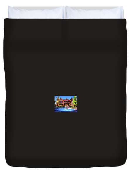Asu Old Man Duvet Cover