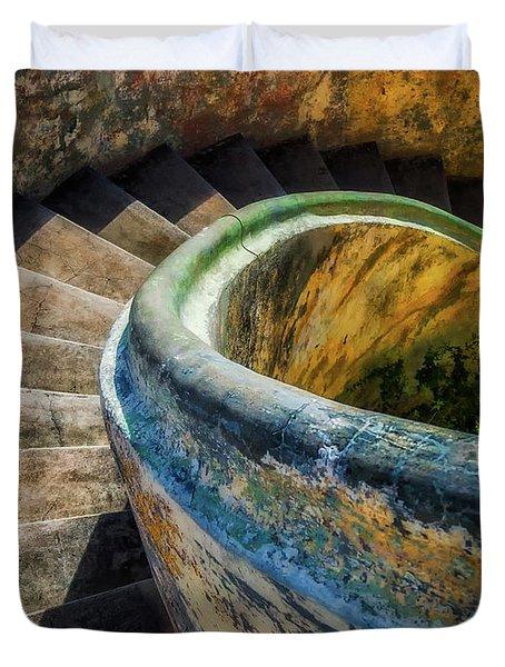 Asylum Staircase Duvet Cover