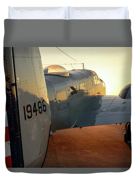 At-11 Sunrise Duvet Cover