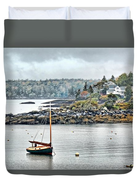 At Anchor - Maine Duvet Cover