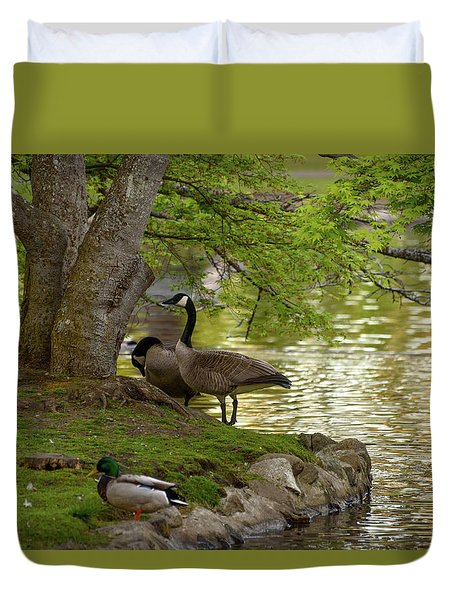 At Days End Duvet Cover
