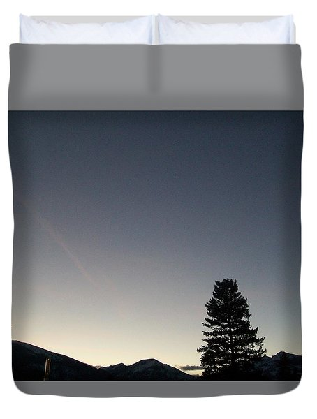 At Dusk Duvet Cover