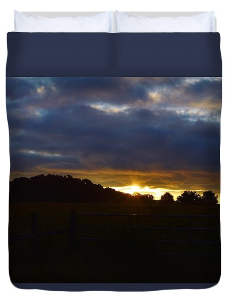 At First Light Duvet Cover