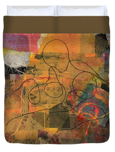 At Loose Ends Duvet Cover
