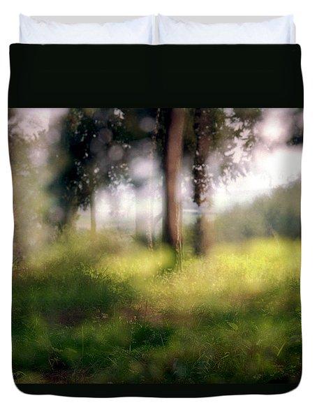 At Menashe Forest Duvet Cover