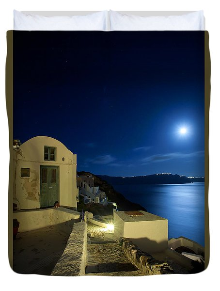 At Midnight Duvet Cover by Aiolos Greek Collections