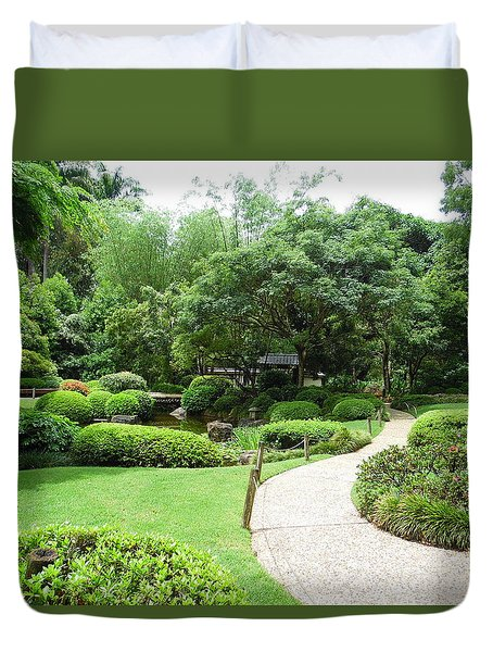 At Peace With Nature  Duvet Cover
