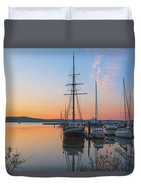 At Rest At Dawn Duvet Cover