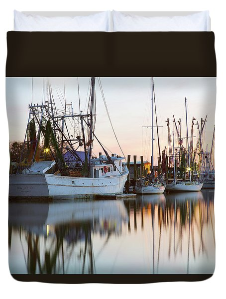 At Rest - Shem Creek Duvet Cover