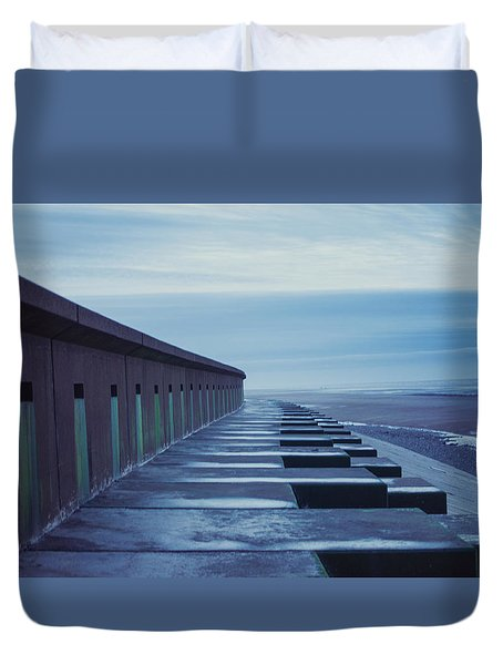 At The Beach Duvet Cover