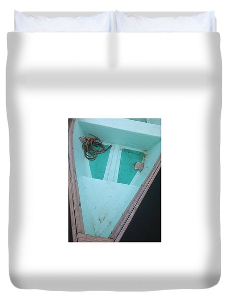 At The Dock Duvet Cover