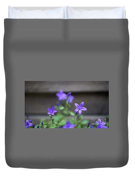 At The Fence Duvet Cover