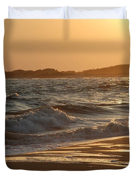 At The Golden Hour Duvet Cover