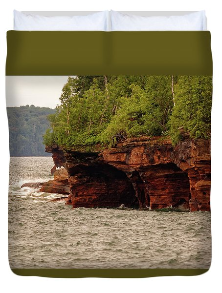 At The Point Duvet Cover