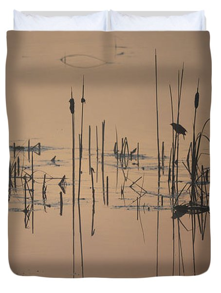 At The Pond Duvet Cover