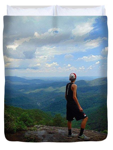 Appalachian Trail - Views Duvet Cover