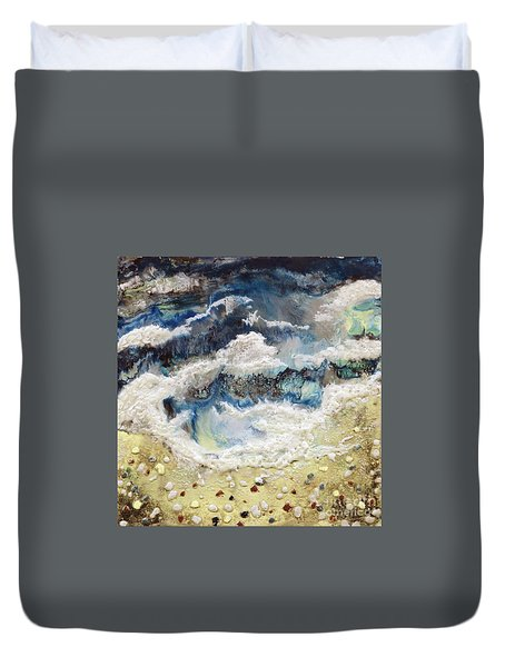 At Water's Edge II Duvet Cover