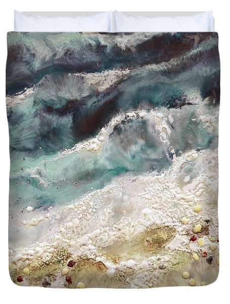 At Water's Edge Iv Duvet Cover