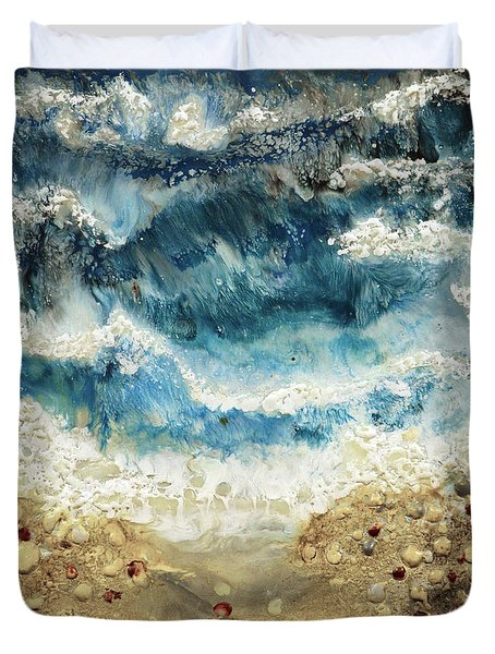 At Water's Edge V Duvet Cover