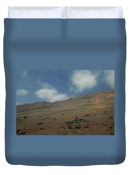 Atacama Desert Duvet Cover